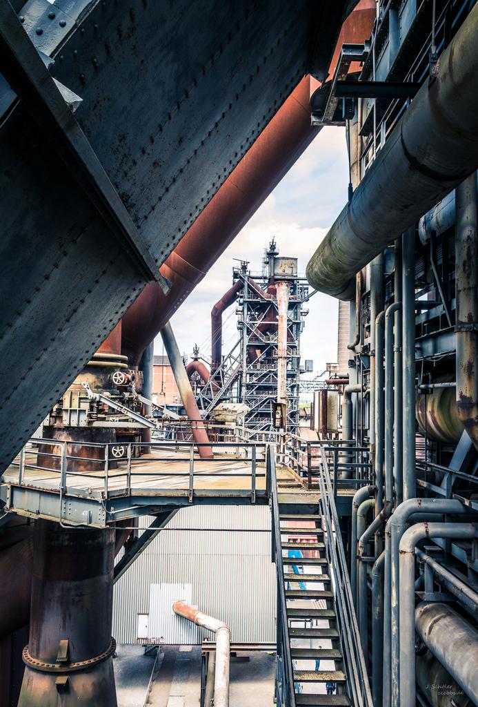 Industriedenkmal: Hochofen V im Landschaftspark Duisburg-Nord (LaPaDu)